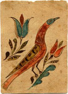 fraktur gallery exhibit, Mennonite Heritage Center