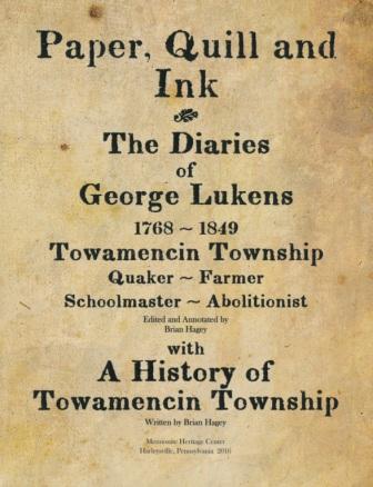 Mennonite Heritage Center, Lukens, Towamencin