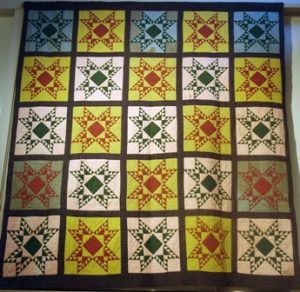 Mary Loux quilt, Mennonite Heritage Center