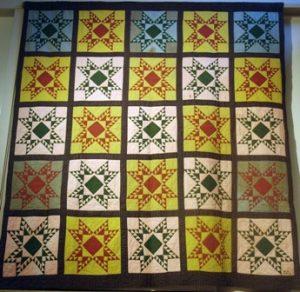 Mary Loux quilt, Mennonite Heritage Center