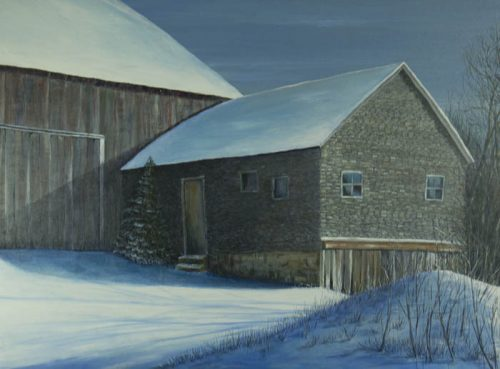 David Page art exhibit, Mennonite Heritage Center